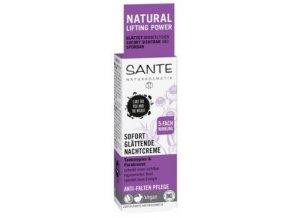 Vyhladzujúci nočný krém Anti wrinkle - Sante