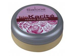 Ružový balzam Bio Karité Saloos