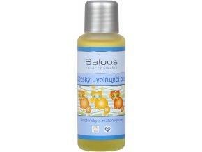 Detský uvoľňujúci olej Saloos