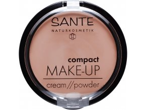 kompaktny make up 01 vanilla sante