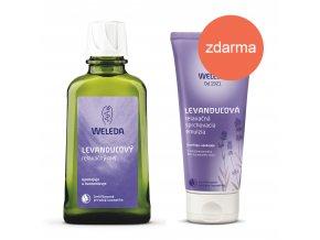 Levanduľový relaxačný olej levandulova sprchovacia emulzia