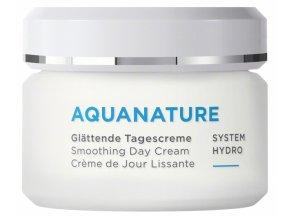 vyhladzujuci denny krem aquanature system hydro