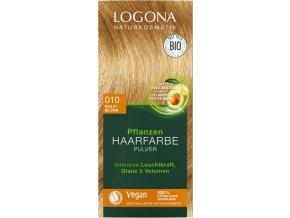 praskova farba na vlasy gold blond