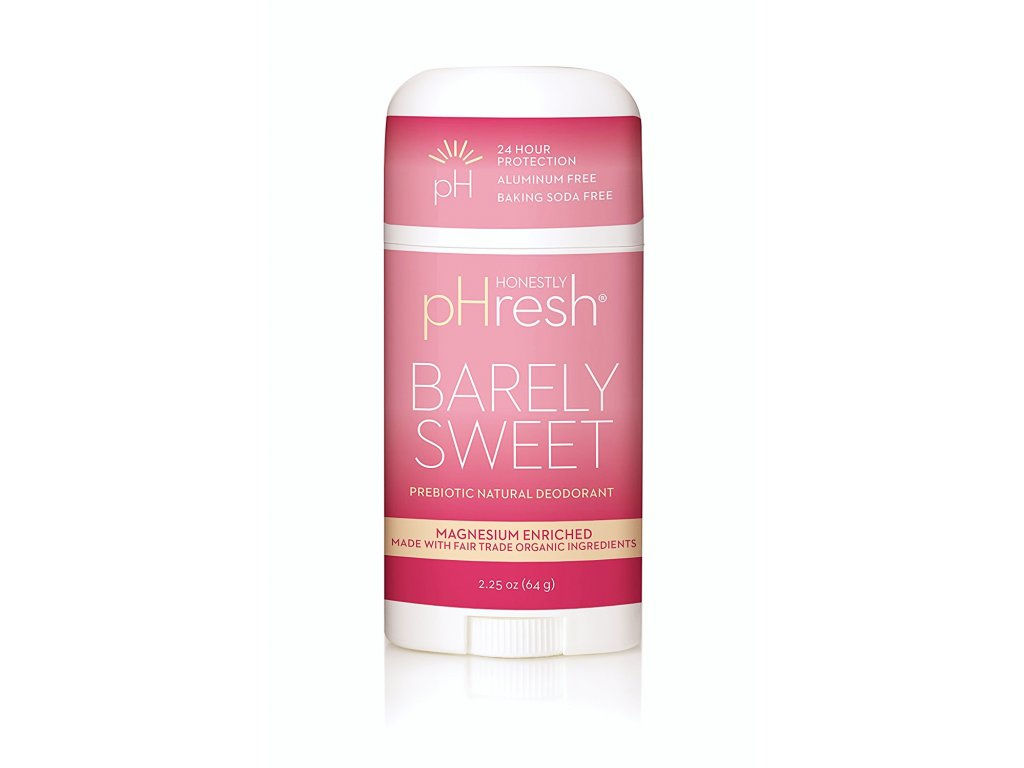 prirodny bio deodorant ovocny barely sweet natural prebiotic honestly phresh