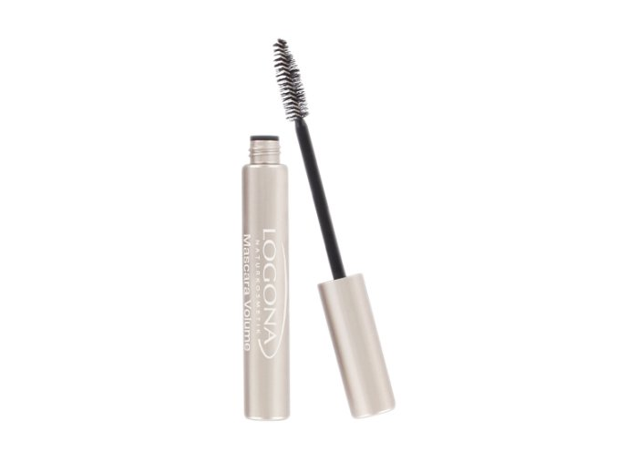 mascara volume deep black 01 logona 30