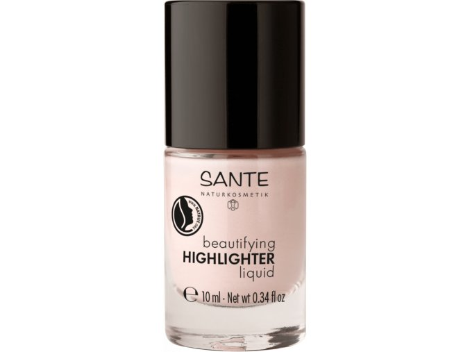Sante Beautifying Highlighter Liquid bio prirodny rozjasnovac