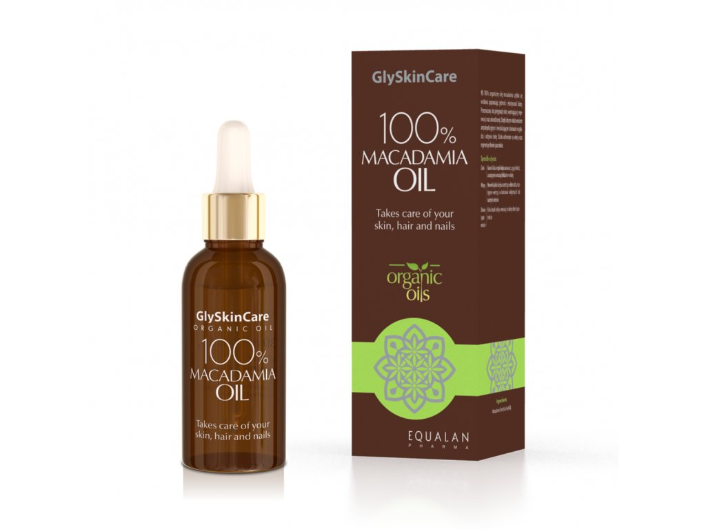 Biotter 100% macadamia oil 30 ml krabička lahvička