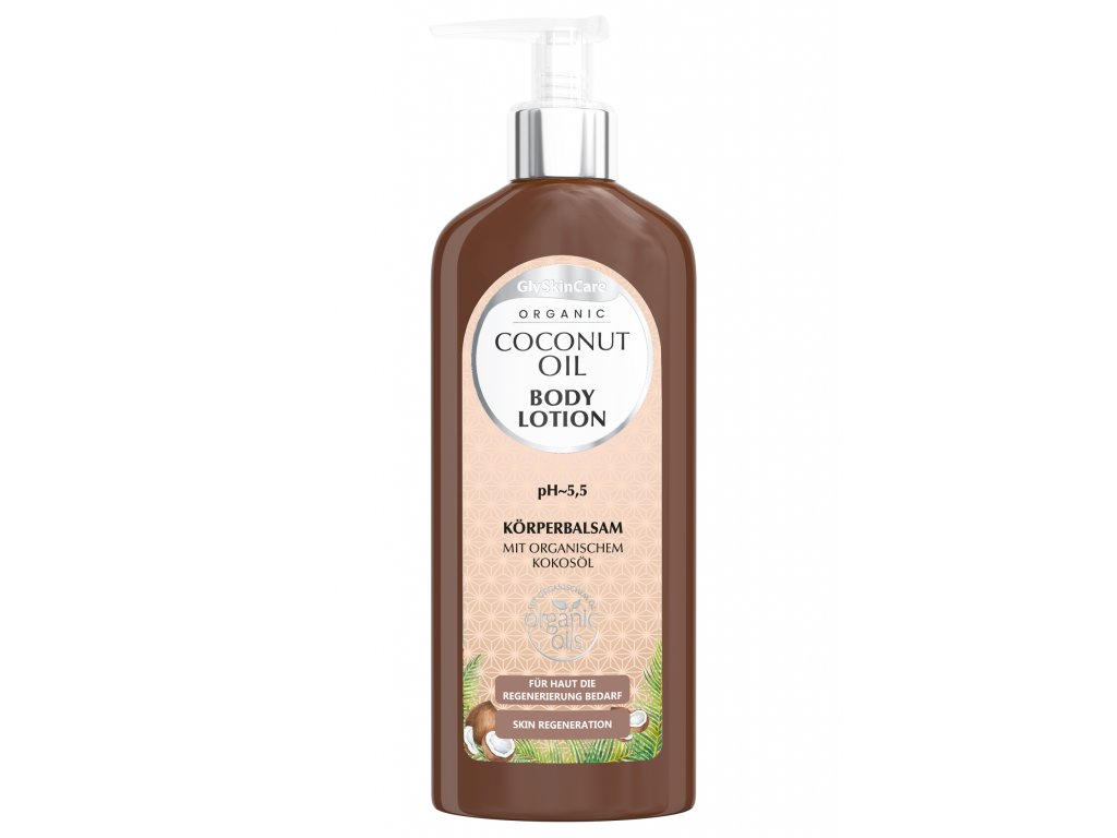 Coconut Oil Body Lotion DE