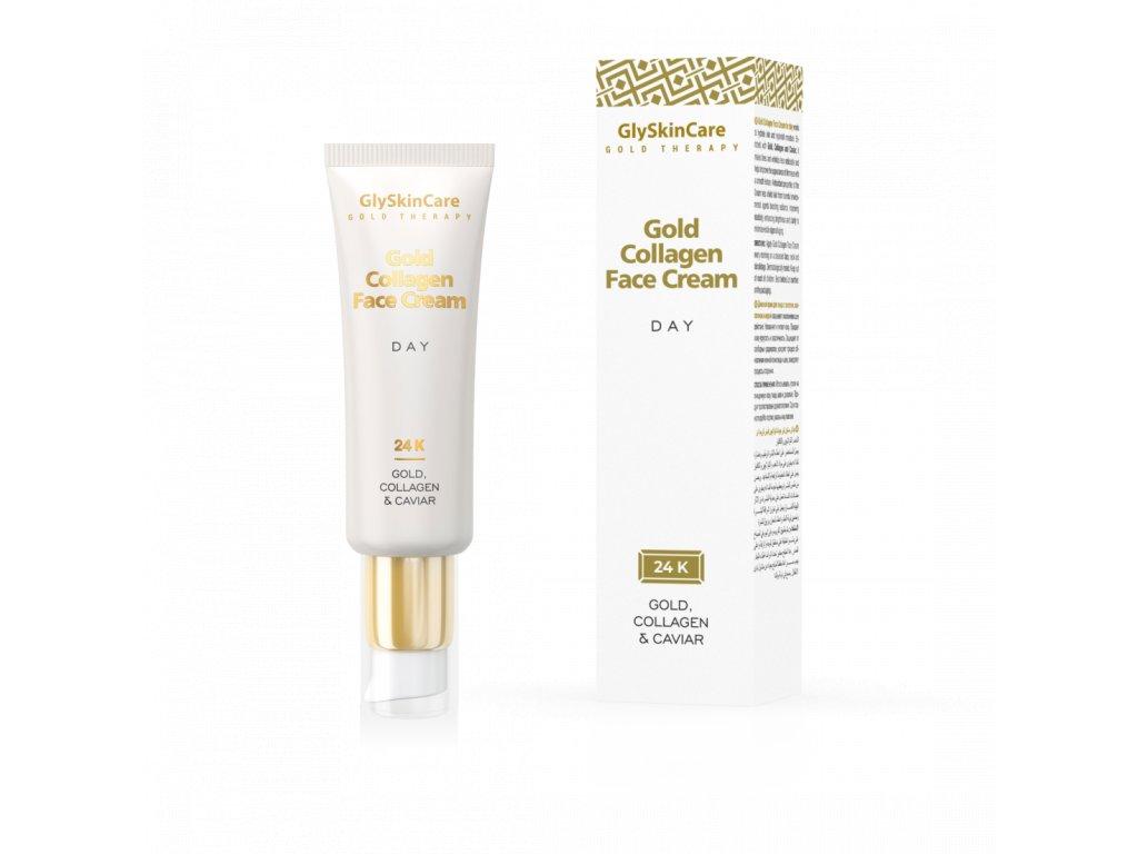 gold collagen face cream day en