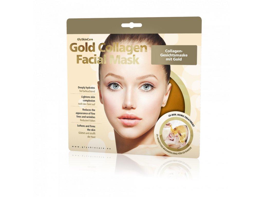 7058162 Biotter Kolagenová maska na obličej se zlatem 1ks