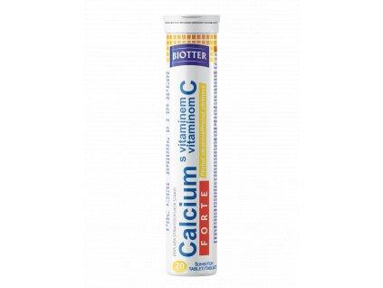 Biotter Calcium s vit. C FORTE citron