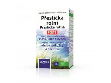 Biotter Přeslička rolní 45 tbl. nový