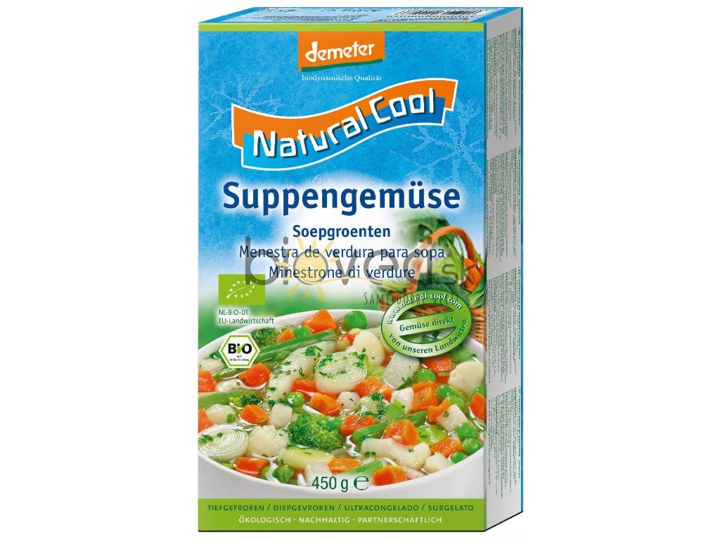 1005 nacool mrazena polievkova zelenina 9 druhov zeleniny 450g