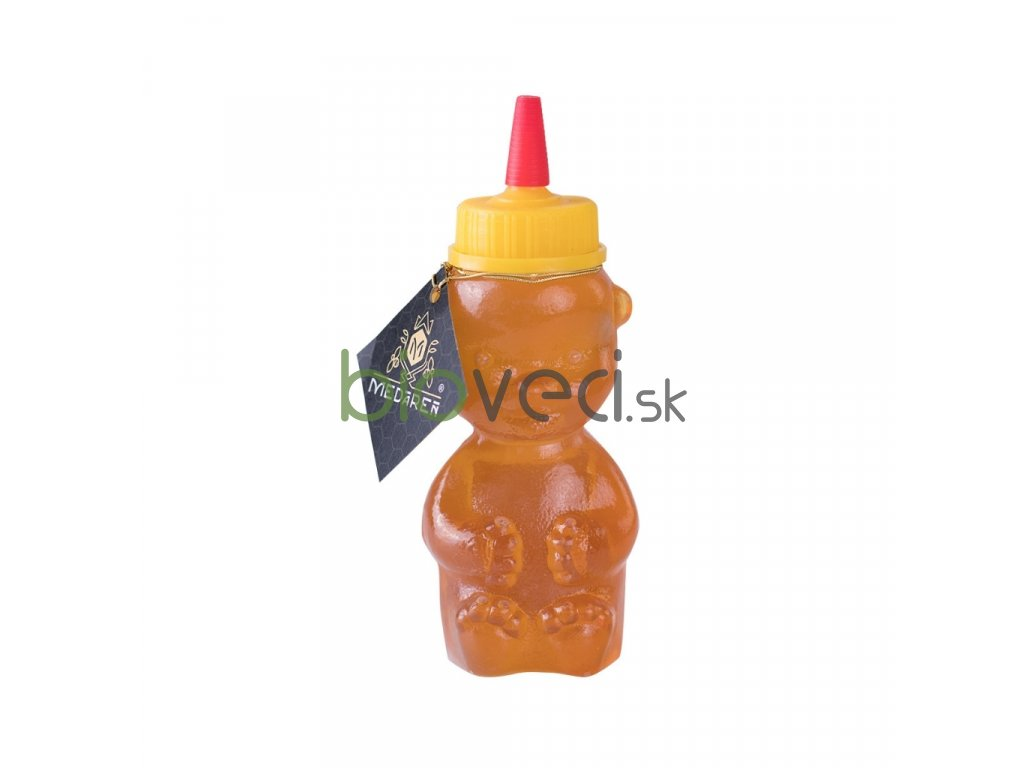 Med v plastovom mackovi Medáreň bioveci