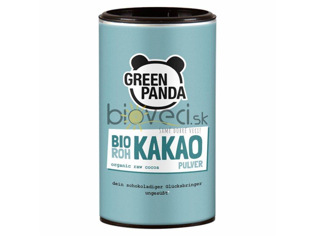 bio potraviny bioveci GreenP Surový kakaový prášok 125g (bio)
