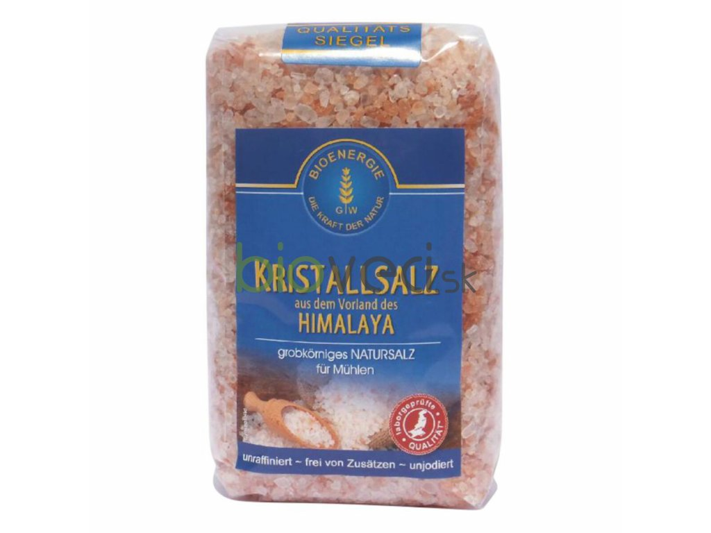 bio potraviny bioveci himalájska kryštalická soľ hrubá 500g