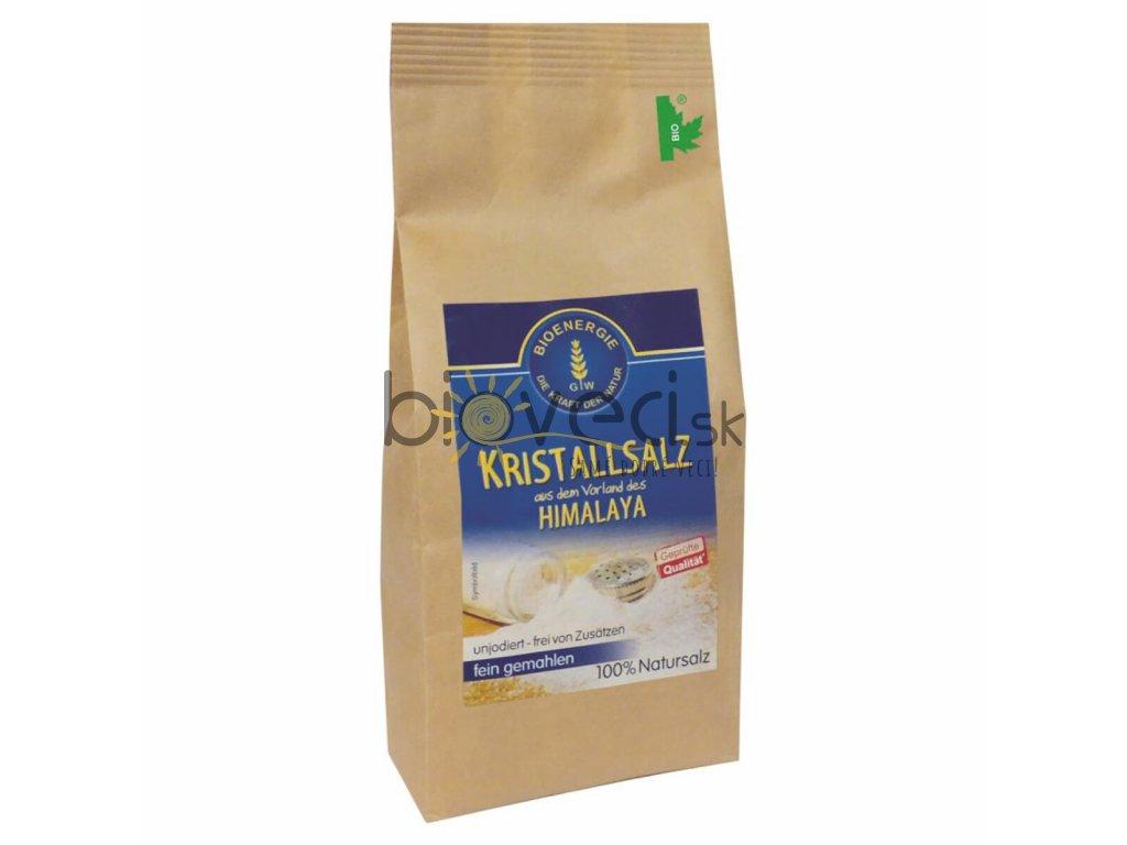bio potraviny bioveci himalájska kryštalická soľ jemná 500g