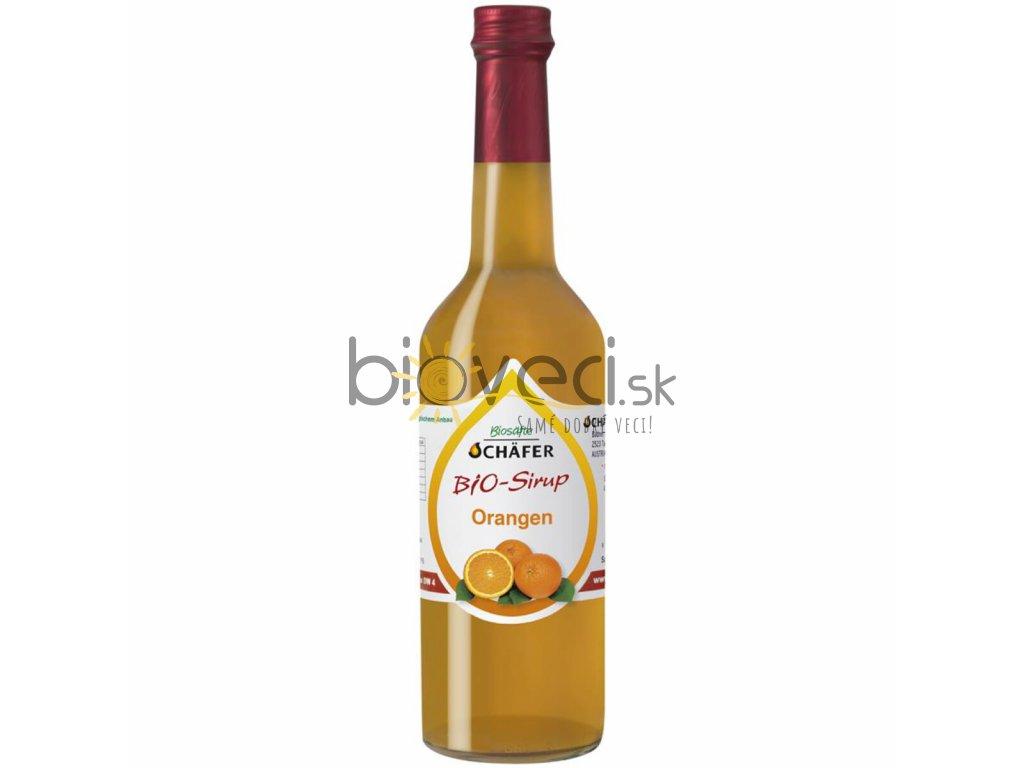 205094 Pomarančový sirup 0,5l bio potraviny