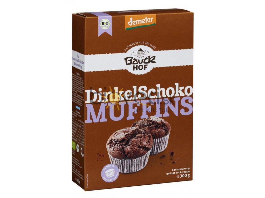 1857 bauckhof spaldove cokoladove muffiny 300g