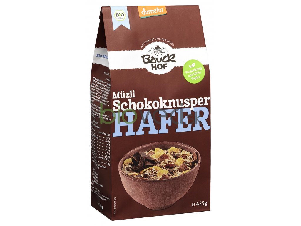 1863 bauckhof ovsene cokoladove musli 425g