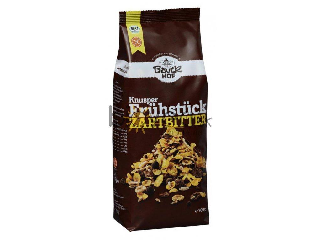2130 bauckhof chrumkave cokoladove lupienky 300g s jezkom