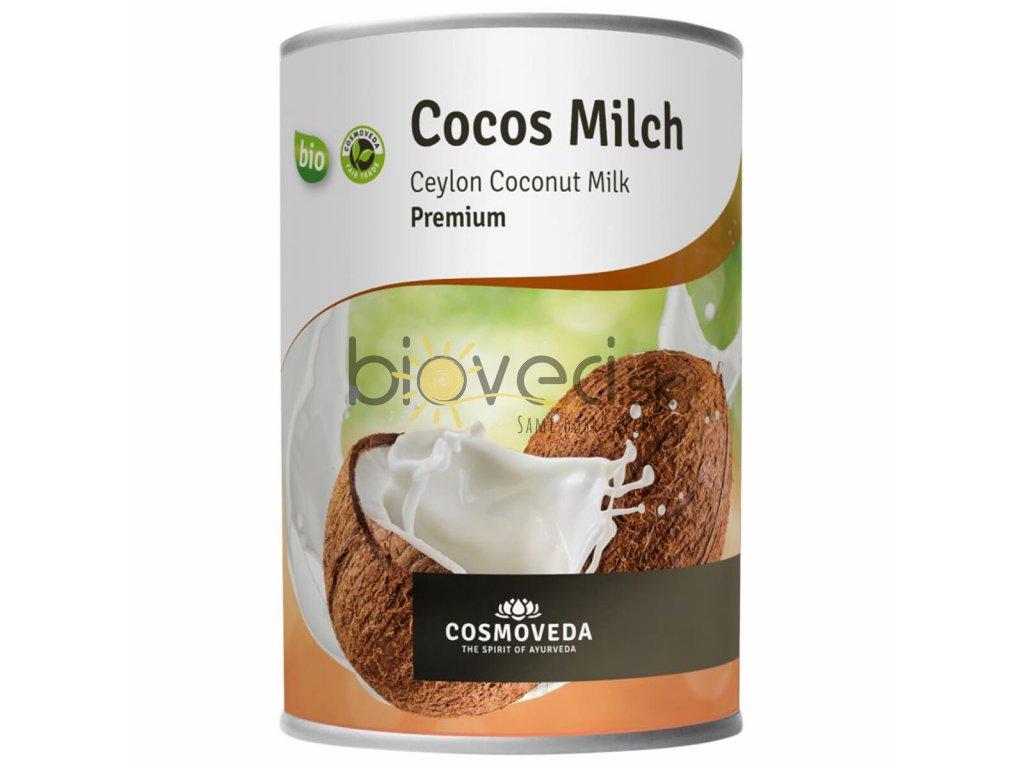 bio potraviny bioveci Bio kokosové mlieko 400ml