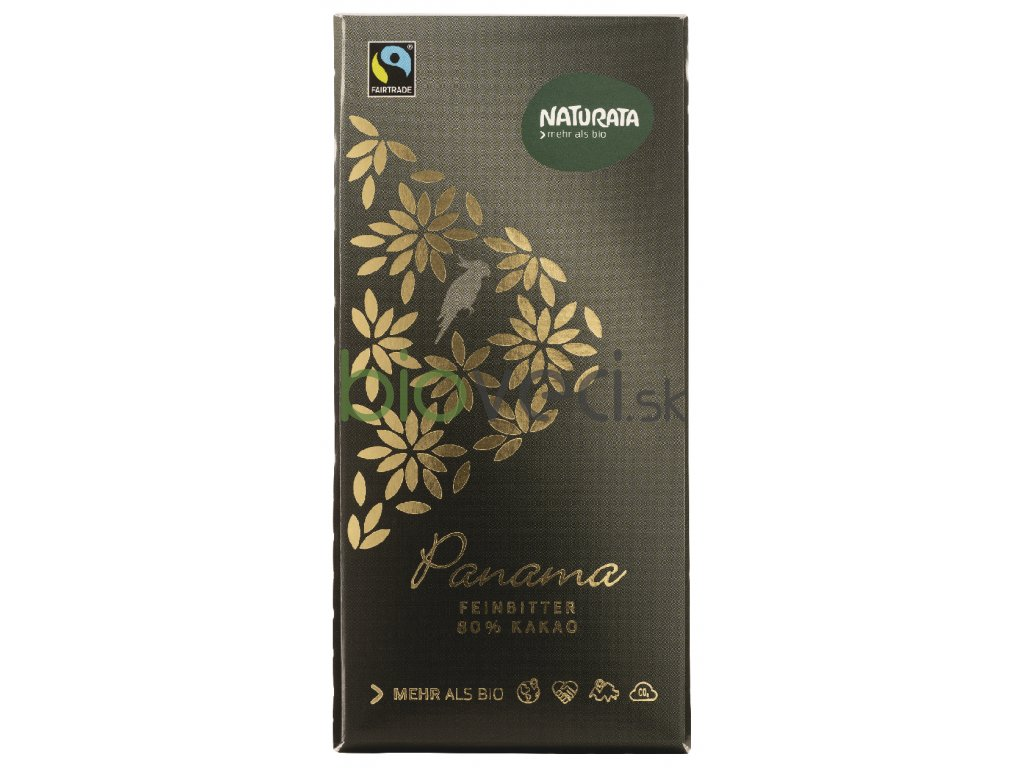 2544 naturata cokolada panama 80 100g