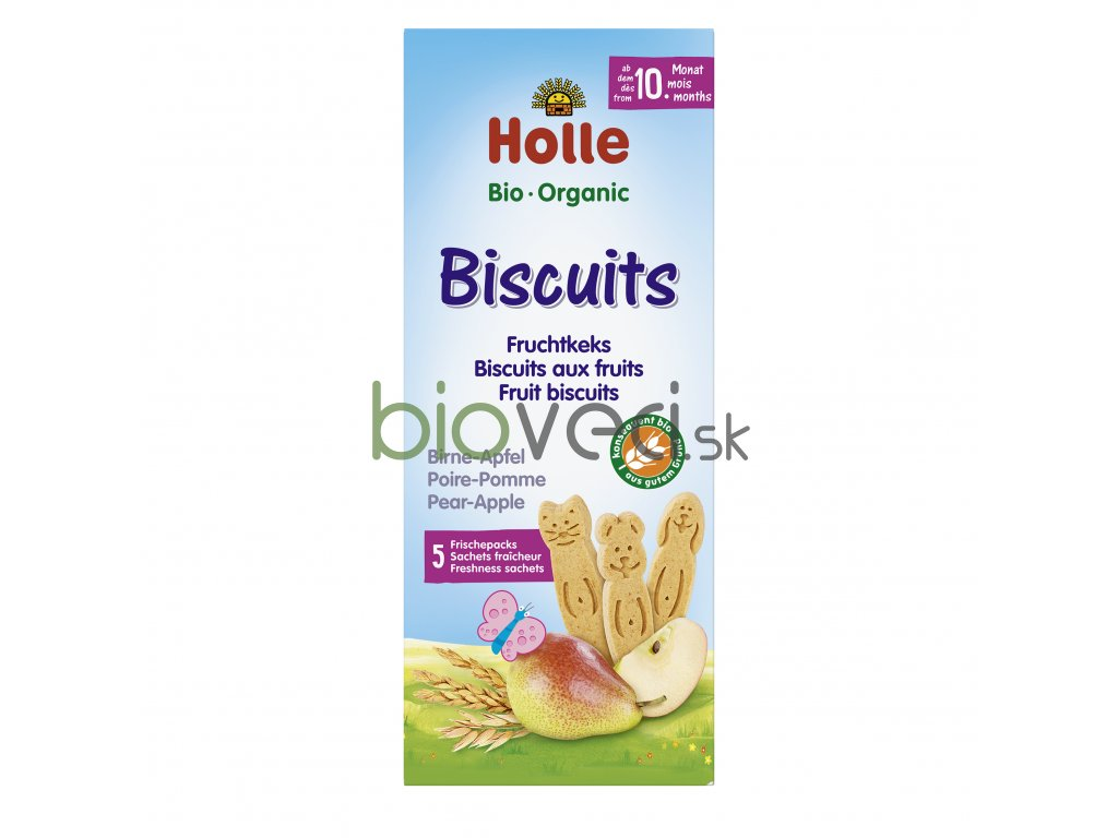 2694 holle biscuits hruskovo jablkove susienky 125g 10 mes
