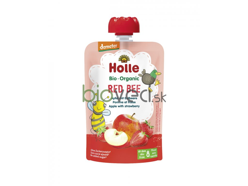 2802 holle kapsicka red bee 100g 8 mes