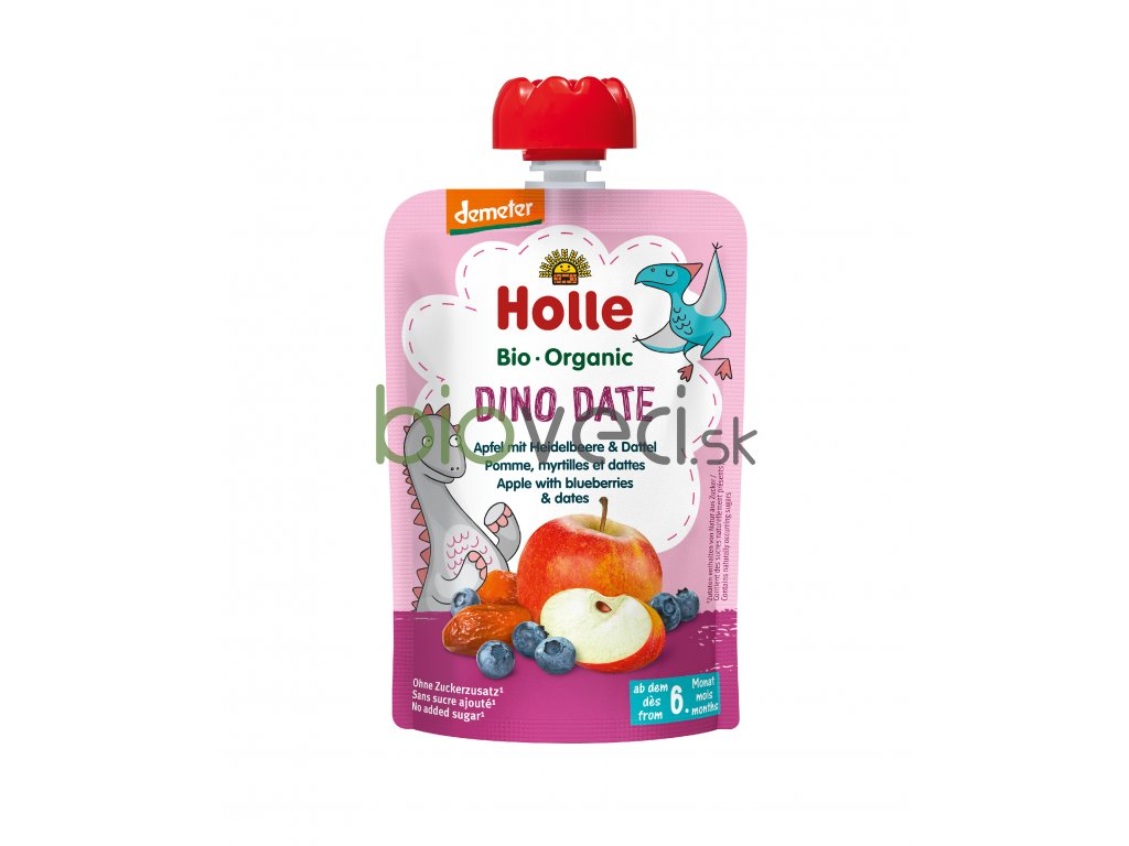 2844 holle kapsicka dino date 100g 6 mes
