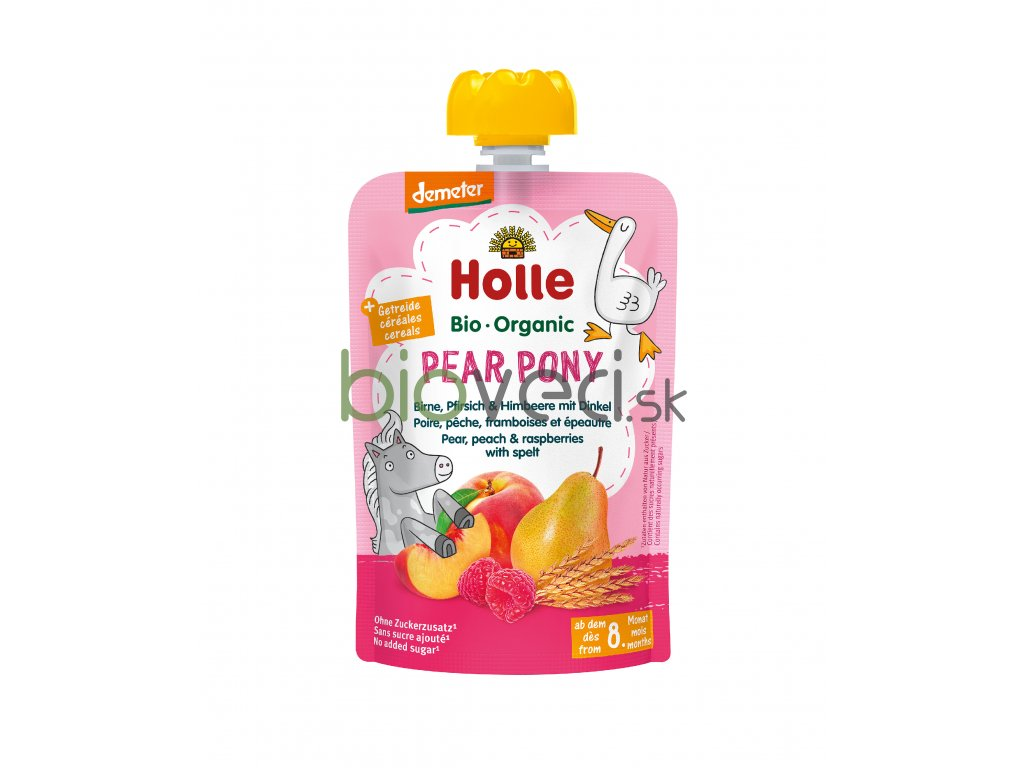 2856 holle kapsicka pear pony 100g 6 mes