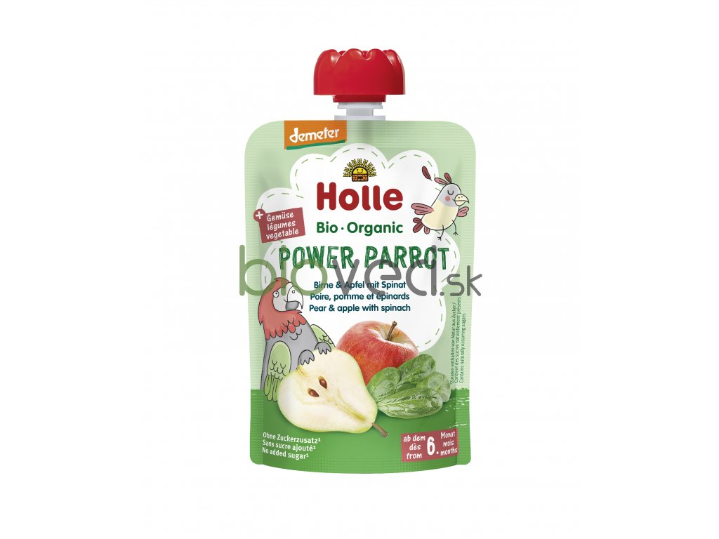 2859 holle kapsicka power parrot 100g 6 mes