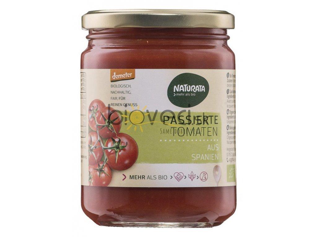 2973 naturata pasirovane paradajky 400g
