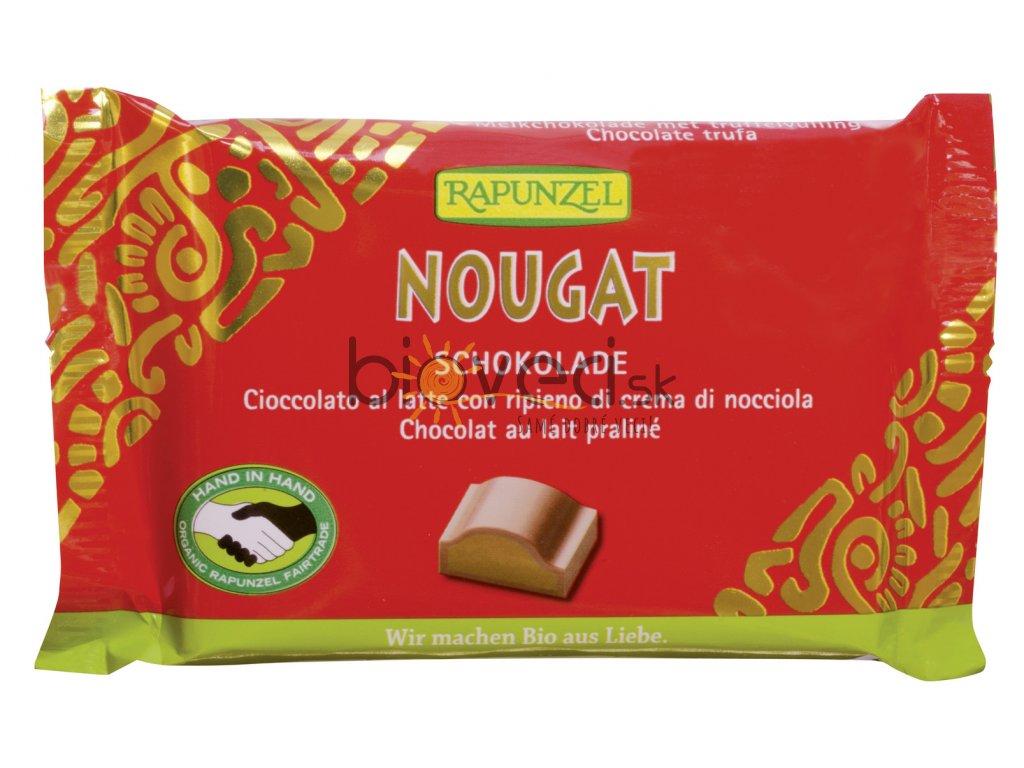 3036 rapunzel nugatova cokolada cervena 100g