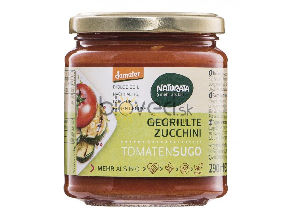 3276 naturata paradajkova omacka s grilovanou cuketou 290ml