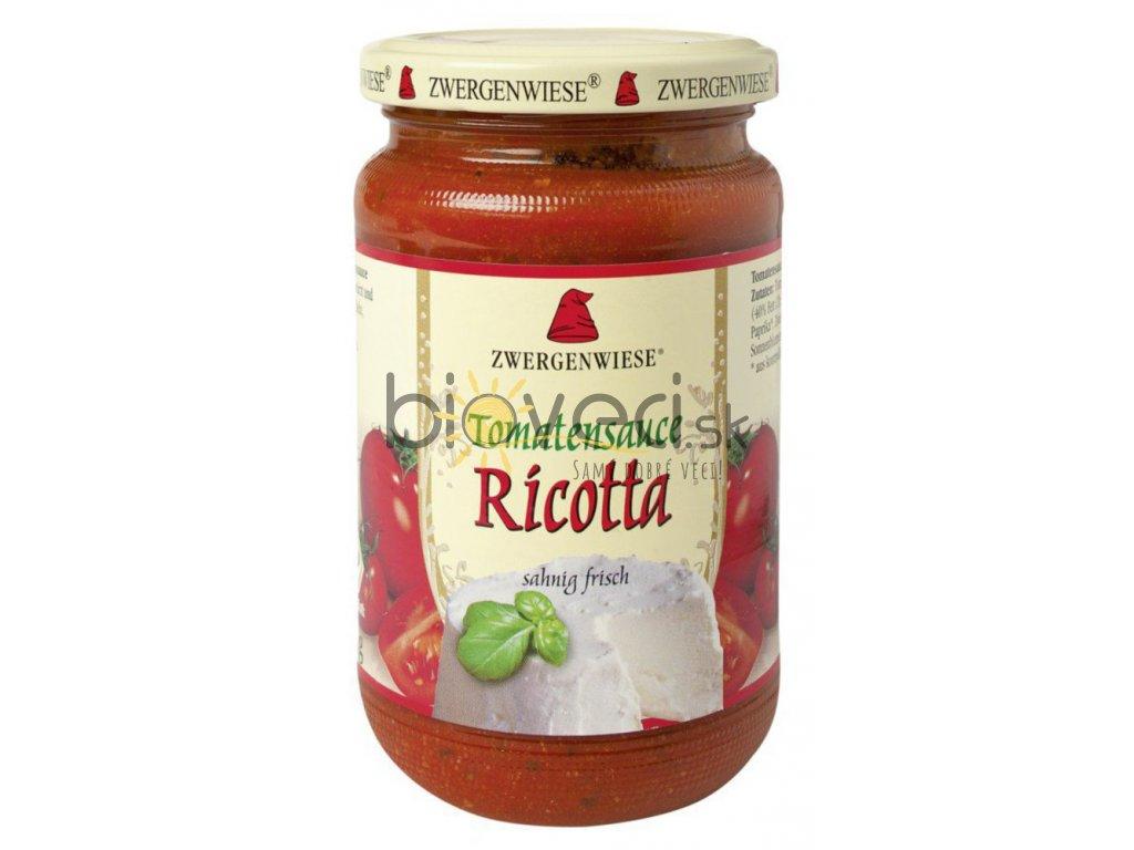 3747 zwe bio paradajkova omacka so syrom ricotta 350g