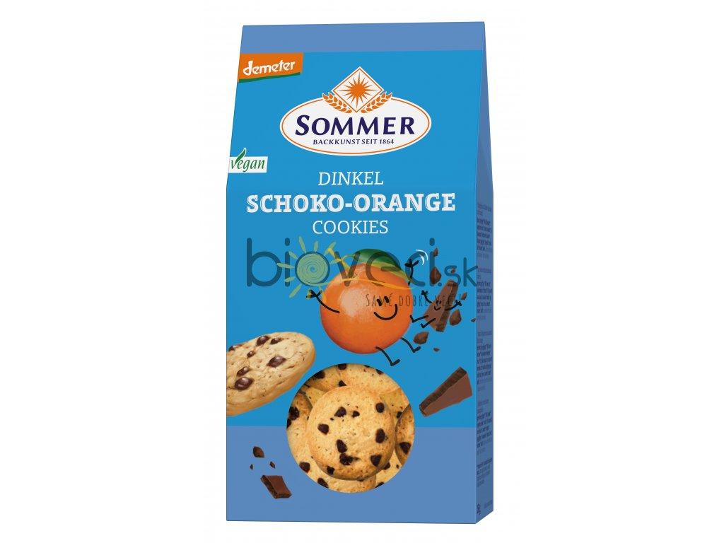 3801 som spaldove pomarancove susienky s cokoladou 150g vegan