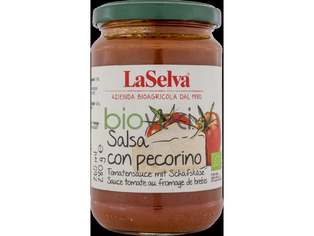 3882 laselva salsa omacka s ovcim syrom 280g