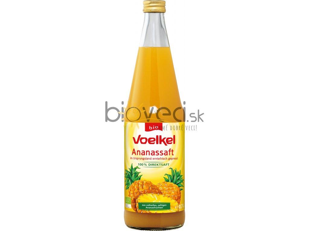 Ananásová šťava 100% nesladená 0,7l