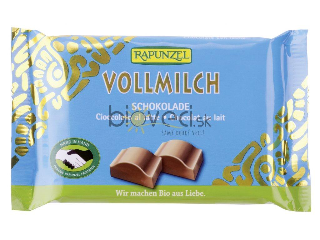 4233 rapunzel mliecna cokolada modra 100g