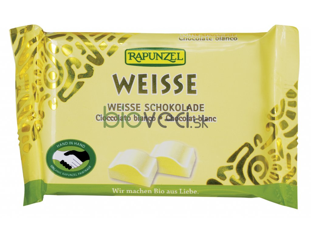 4236 rapunzel biela mliecna cokolada 100g