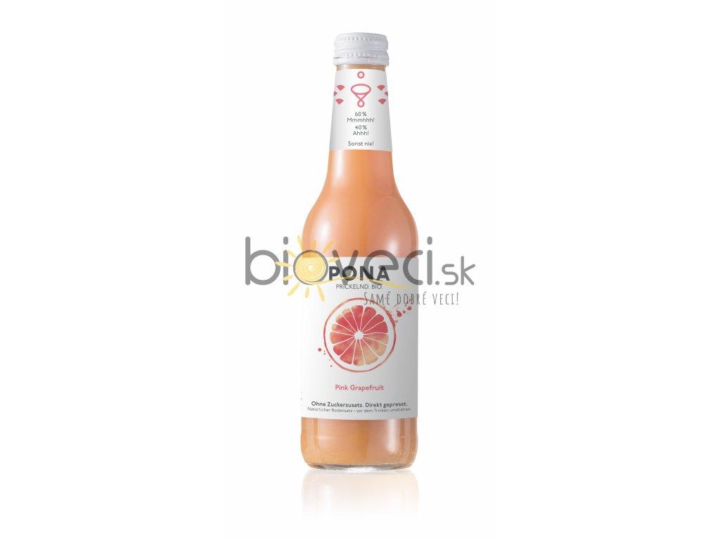 426 pona ruzovy grapefruit 0 33l