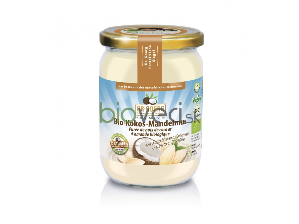 4335 1 dr georg kokosovo mandlove maslo premium 200g