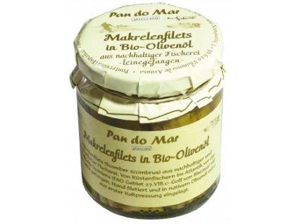 10869 bio filety z makrely v olivovom oleji 220g