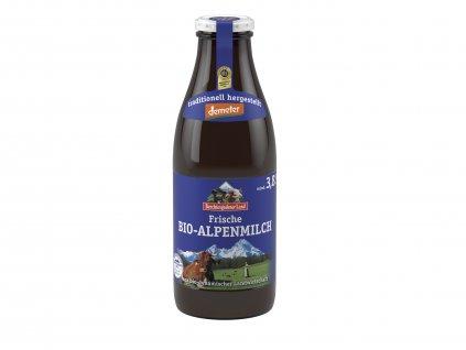 Alpské bio mlieko 3,8% 1l