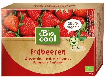 6828 biocool mrazene jahody 300g