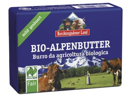 Alpské bio maslo 250g