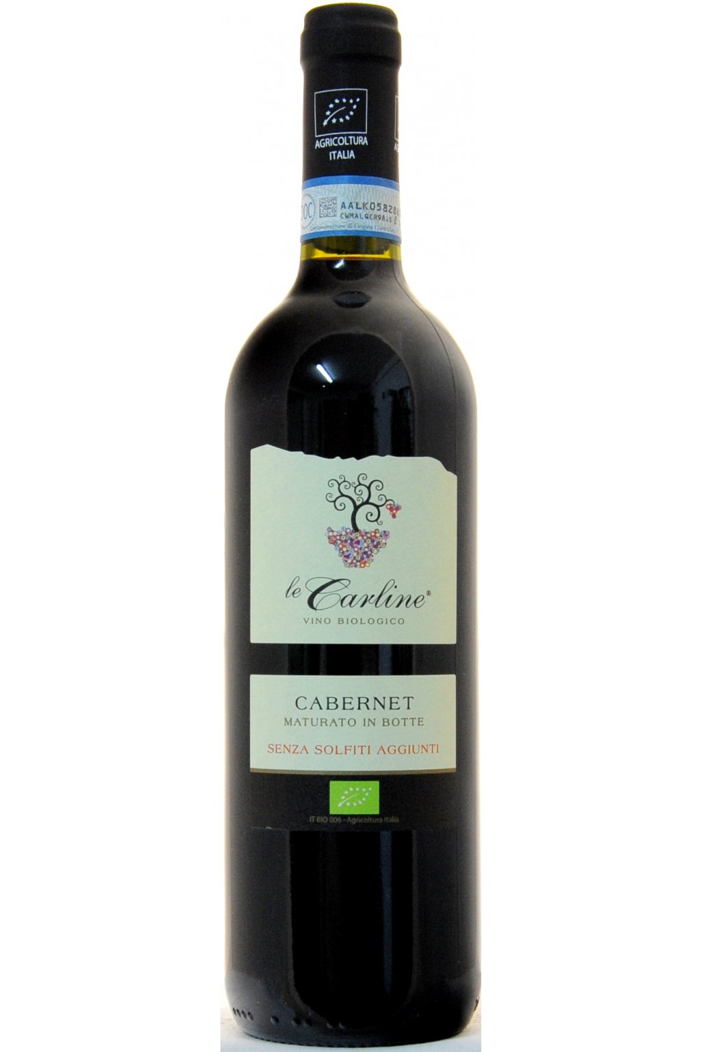 Le Carline Cabernet NO SULPHITES DOC Lison Pramaggiore 2014 F