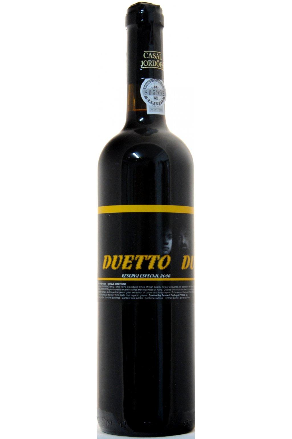 Duetto Reserva Especial 2006 F
