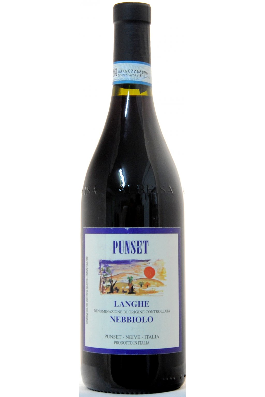 PUNSET Langhe DOC Nebbiolo 2013 F